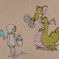 Offering with online payment: Children's Book Illustrations