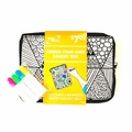 Compra Ahora: Kids Color Your Own Gadget Bag (Markers Included) – Pre-Priced $7