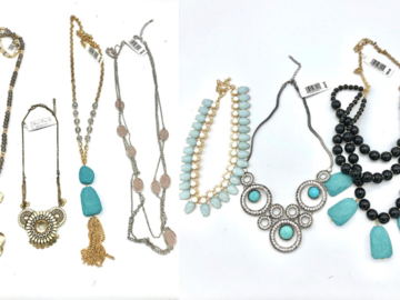 Buy Now: 50 pieces Boutique Statement Necklaces priced $29.00 ea =$2,997