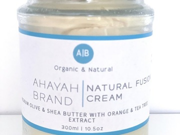 For Sale: Natural Fusion Cream by Ahayah Brand - Small