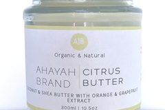 For Sale: Citrus Butter by Ahayah Brand (Large)