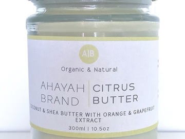 For Sale: Citrus Butter by Ahayah Brand (Small)