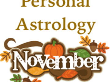 Selling: Personal Astrology for November