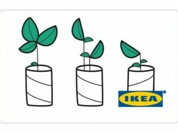 Vente: e-Carte cadeau IKEA (1231,19€)