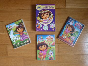 """Vente: Coffret 3 DVD Dora l'exploratrice """"Dora et les histoires magiques"""