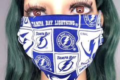 Selling with online payment: Tampa Bay Lightning Face Mask