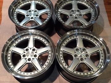 "Selling: 19"" AC Schnitzer Type-2 (Type II) 3-piece  Wheels"
