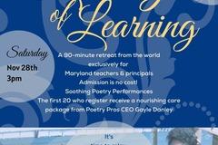 Announcement: Poetry Pros CEO Hosts Teacher Appreciation Mini Retreat