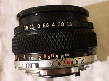 Vente: Objectif Olympus 50mm