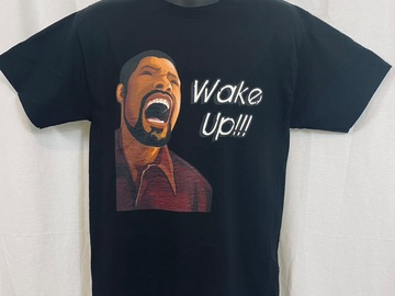 """Selling with online payment: Screaming """"Wake Up"""" T Shirt"""