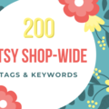 Offering online services: Shop-Wide Keyword / Tag Recommendations for Etsy