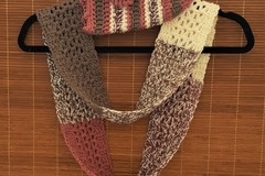 Selling with online payment: Crochet Woman's Hat and Infinity Scarf Set