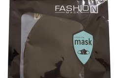 Buy Now: 60 x Washable Reusable Face Mask - Black