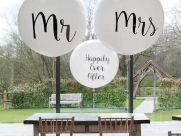 Ilmoitus: Mr. Ja mrs. Jätti-ilmapallot