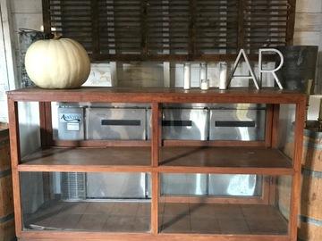 Rentals : Antique Shop Keeper's Display Cabinet