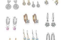 Buy Now: 12 pair Swarovski Elements Jewelry Earrings