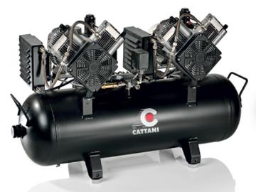 Nieuwe apparatuur: Cattani compressoren bij Rodeq