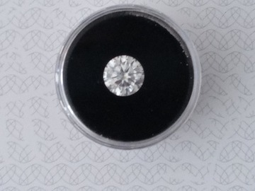 Make An Offer:  2 ct moissanite diamond with certificate