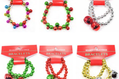 Buy Now: 120 Individual Christma Jingle bell Bracelets. 0.65 Each bracelet