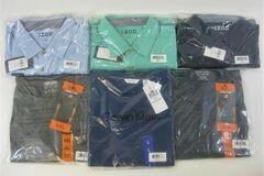 Liquidation/Wholesale Lot: Men's Designer Shirts by Izod, Calvin Klein & Kirkland, Mixed Col