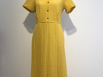 Selling: Yellow Pebbles Dress Small