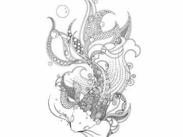 Sell Artworks: THE KOI FISH