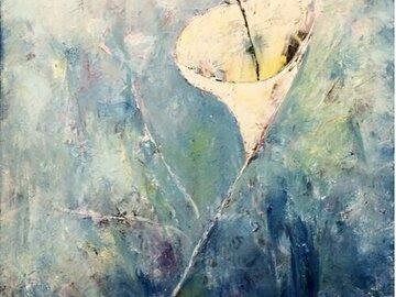 Sell Artworks: THE WHITE FLOWER
