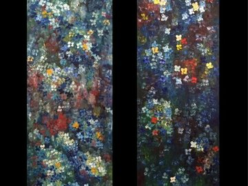 Sell Artworks: NIGHT LIGHTS. DIPTYCH