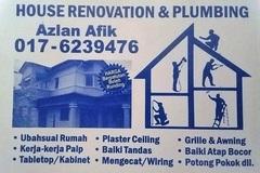 Services: plumbing and renovation 0176239476 wangsa maju