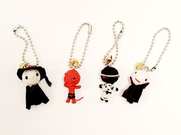 Buy Now: Novelty Voodoo Doll Mini Friends Keychains
