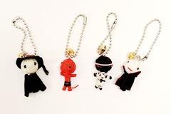 Liquidation/Wholesale Lot: Novelty Voodoo Doll Mini Friends Keychains
