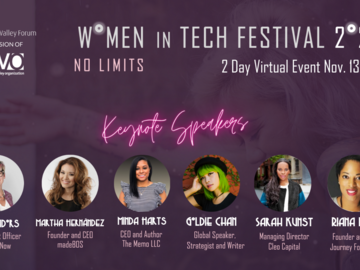 Partner Event: Women in Tech Festival