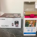 Ilmoitus: Canon selphy CP1300 – valokuvaprintteri