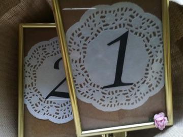 Ilmoitus: Pöytänumerot 1-10