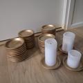 Ilmoitus: Kultaiset kynttilänaluset
