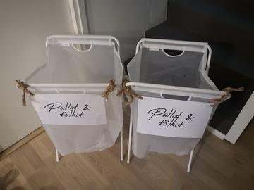 Ilmoitus: Tölkkien ja pullojen keräys astiat