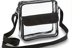 Buy Now: Stadium Approved Clear Crossbody Messenger Bag