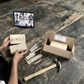 per person: Creative Confidence Woodworking Workshop