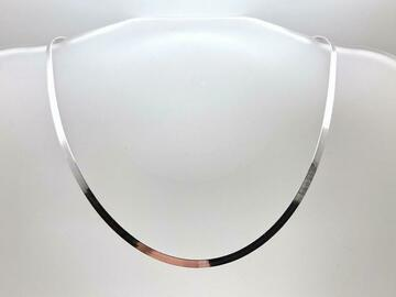 """Liquidation/Wholesale Lot: 10 Necklaces Made in Italy Sterling Silver 18"""" Herringbone Chain"""