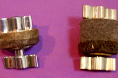 Selling with online payment: Two 1920-30s hi-hat clutches $22 EACH