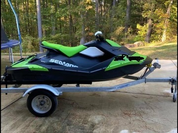 Renting out with online payment: Sea-Doo Spark