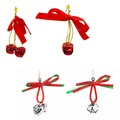 Buy Now: 24 Pairs of Jingle bell Christmas earrings. $0.50 Each Pair