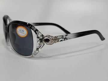 Selling with online payment: SunReader Black Frame with Bling