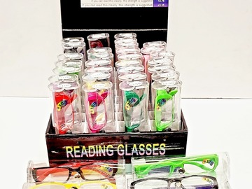 Buy Now: Assorted Colorful Men's And Women's Reading Glasses