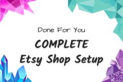 Offering online services: Set Up Your Etsy Shop