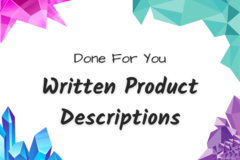 Offering online services: Write My Product Descriptions