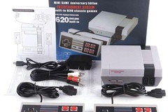 Liquidation/Wholesale Lot: Retro Game Console with Built in 620 Games
