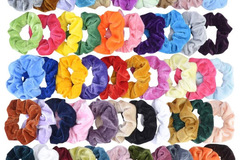 Buy Now: 208 Pc Hair Scrunchies Mixed Colors