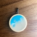 Selling with online payment: Natural Sand Beach Pendant