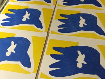 Workshop Angebot (Stundenbasis): Karten selber machen mit dem verlorenen Druckstock
